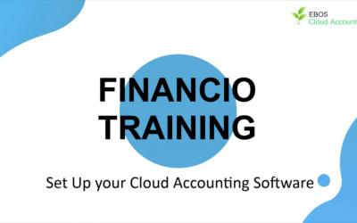 Financio Training – Set up your Cloud Accounting Software