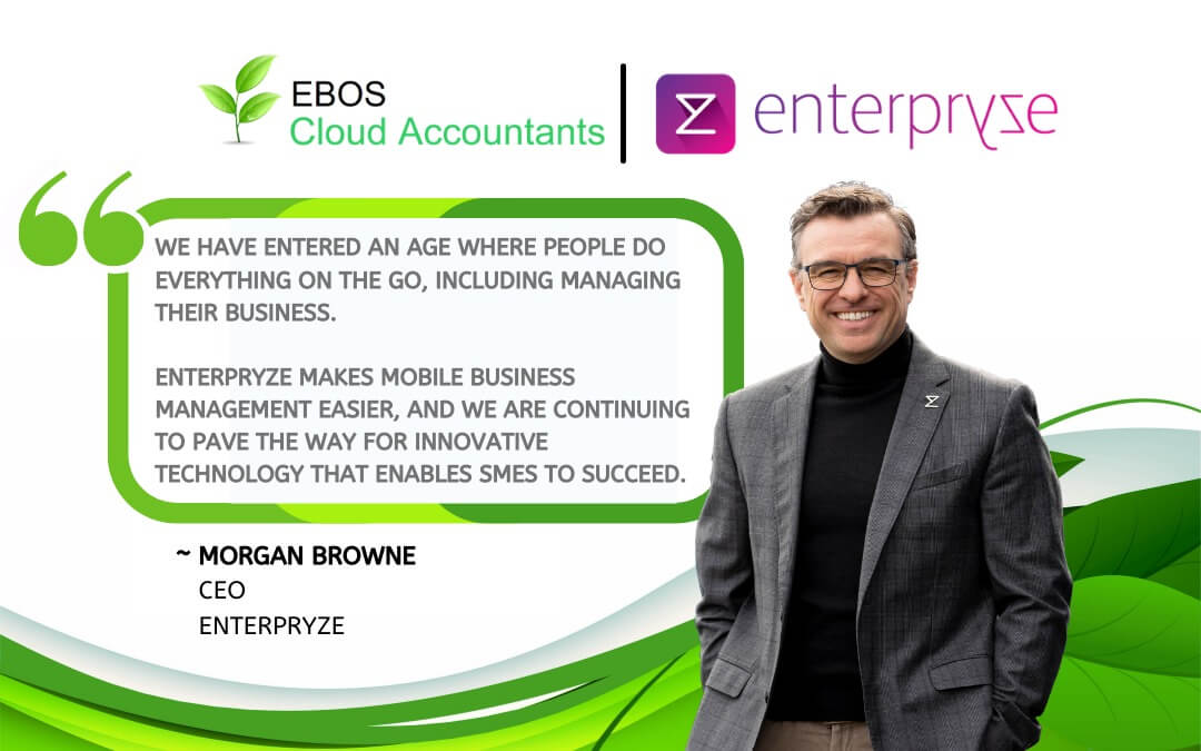 """""""We've officially partnered with 'Enterpryze' Business and Accounting Management software"""""""