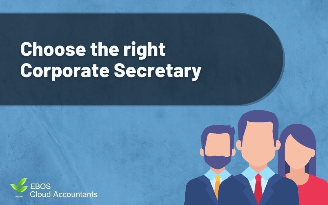 Choosing the right corporate secretary
